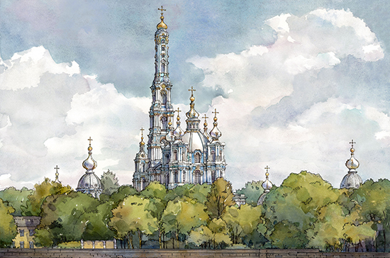 Колокольню по проекту Растрелли предлагают построить в Петербурге