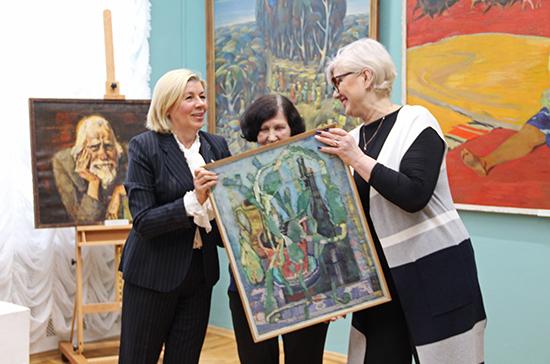 Тульский музей получил при поддержке Наталии Пилюс более 700 экспонатов