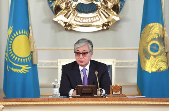 Президент Казахстана принял приглашение Путина посетить Москву в День Победы