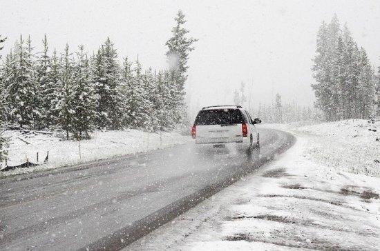 В Норильске ограничили движение по дороге в аэропорт