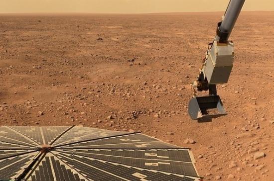 Учёные NASA обнаружили разрушение ледяного покрова на Марсе