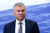 Спикер Госдумы призвал бережно относиться к истории