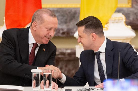 Турция и Украина подписали соглашение о военно-финансовом сотрудничестве