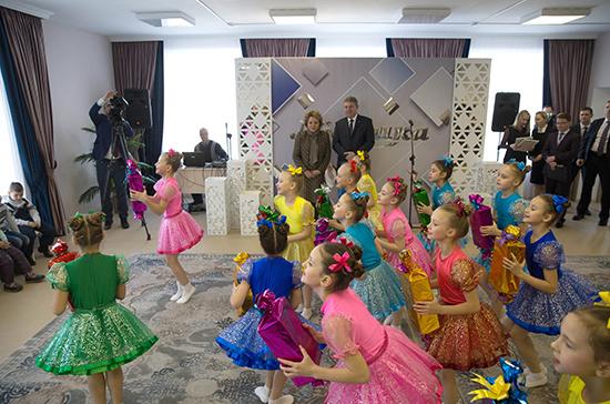 Матвиенко назвала обеспечение детей местами в яслях приоритетной задачей