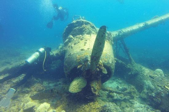 Охраной подводных памятников могут заняться регионы