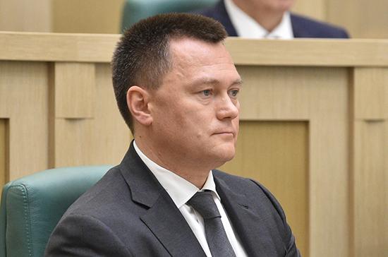 Игорю Краснову присвоили чин действительного государственного советника юстиции