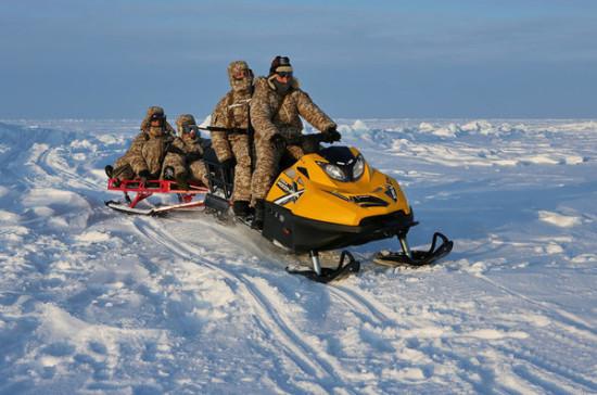Персоналу ВС РФ на Новой Земле дали военные пайки