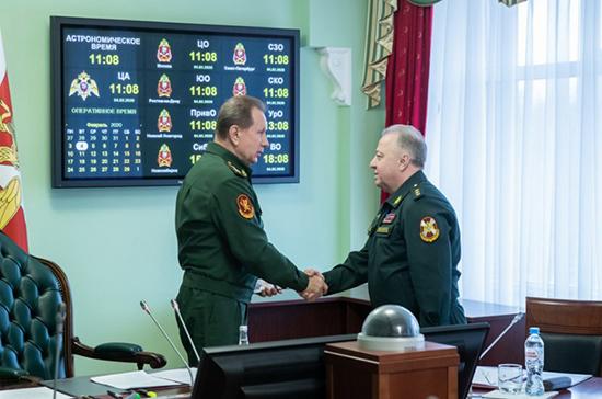 Золотов представил своего первого заместителя