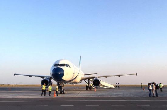 Первый самолет с эвакуированными россиянами из КНР прибыл в Тюмень
