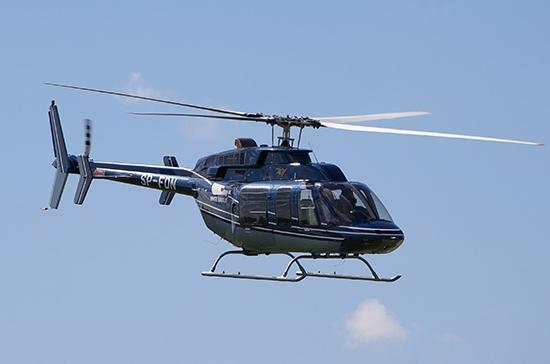 В Татарстане разбился частный вертолет с тремя людьми на борту