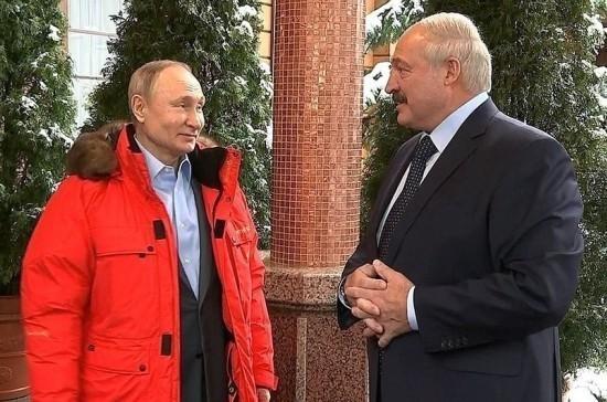В Кремле рассказали, как прошли переговоры Путина и Лукашенко
