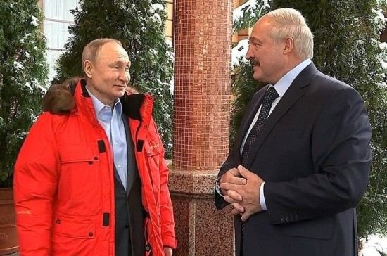 Лукашенко рассказал о темах, обсуждавшихся на переговорах с Путиным