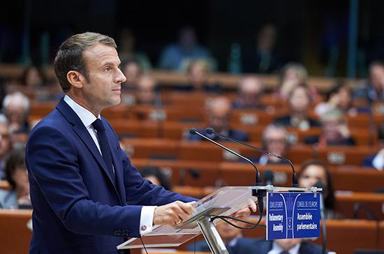 Макрон: европейцы должны стать участниками нового ДРСМД