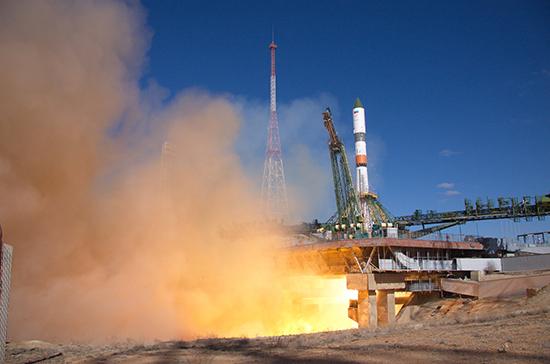 Ракета «Союз» со спутниками OneWeb успешно стартовала с Байконура