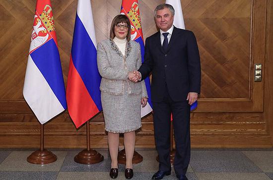 Майя Гойкович: мы гордимся, что не вводили и не будем вводить санкции против России