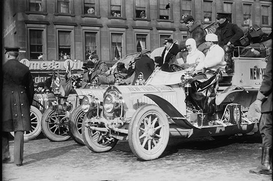 Автогонки вокруг земного шара прошли 112 лет назад