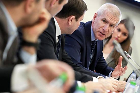 Матыцин: Минспорта не будет вмешиваться в судебный процесс с WADA