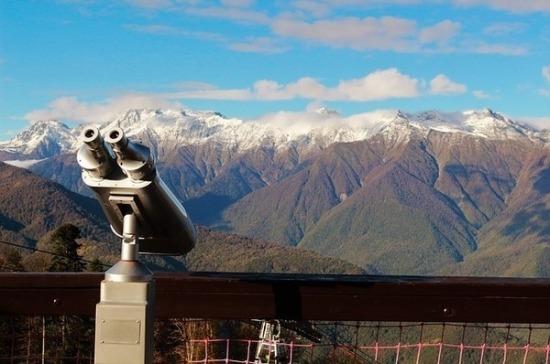СМИ: иностранные туристы высоко оценили горнолыжные курорты Сочи