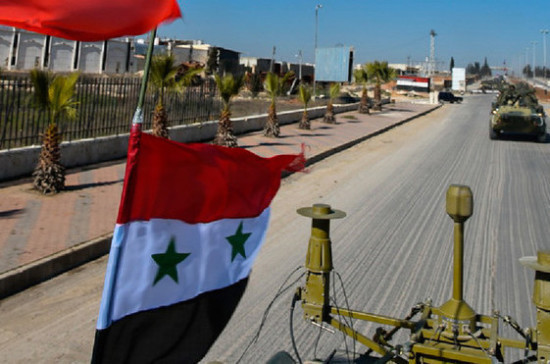 Воинская корреспонденция в Сирию будет направляться под вооружённой охраной