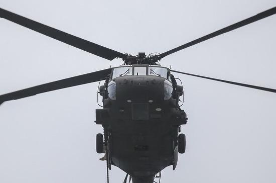 СМИ: в Идлибской зоне деэскалации сбили сирийский вертолёт