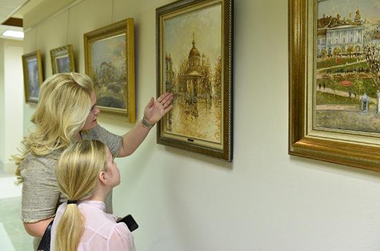 В Совете Федерации открылась выставка «Москва — сердце России»