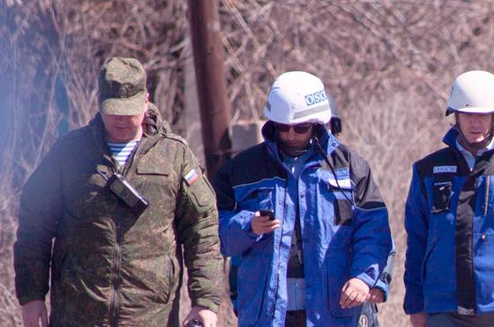 Песков: идею Киева о патрулировании в Донбассе надо обсуждать с ЛНР и ДНР