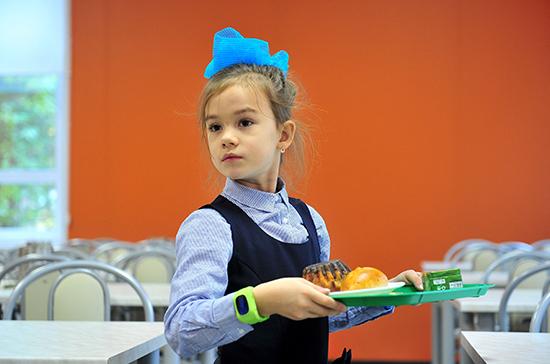 Госдума приняла закон о горячем питании для школьников начальных классов