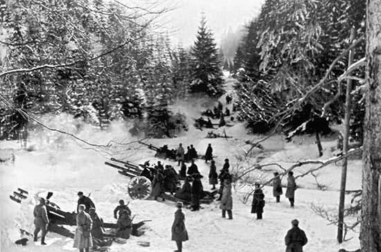 75 лет назад была завершена Западно-Карпатская стратегическая наступательная операция