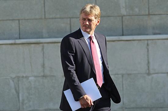 Песков прокомментировал предложение об общем руководстве кабмином