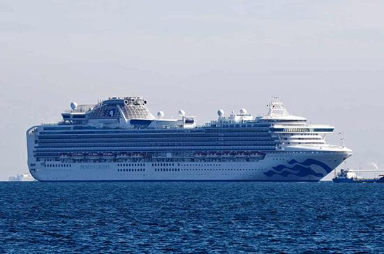 Коронавирус обнаружен ещё у двоих россиян на лайнере в Японии