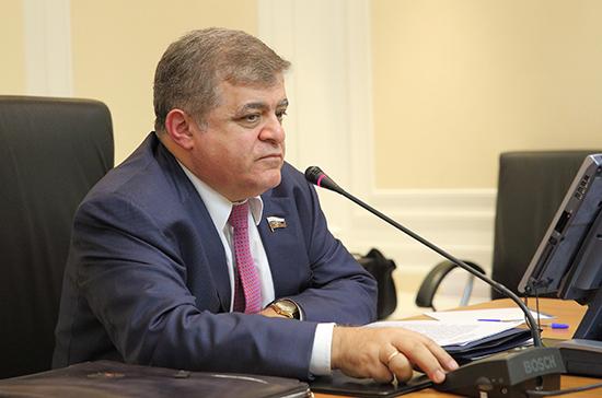 Джабаров заявил в ПА ОБСЕ о визовом произволе эстонских властей