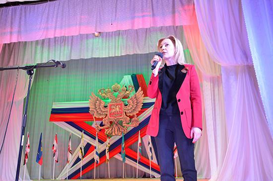 Тимофеева поздравила ставропольцев в преддверии Дня защитника Отечества