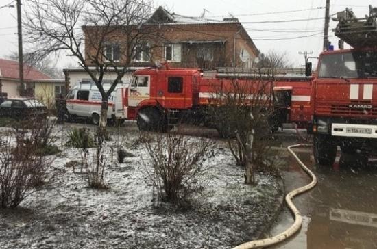 Взрыв газа произошел в жилом доме в Азове