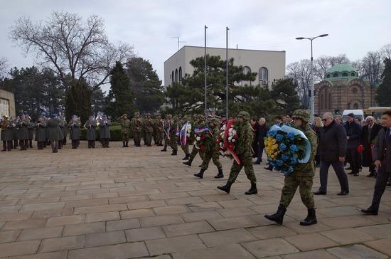 В Сербии почтили память советских солдат