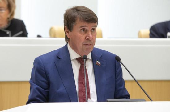 Цеков объяснил желание демократов в США ввести санкции против России