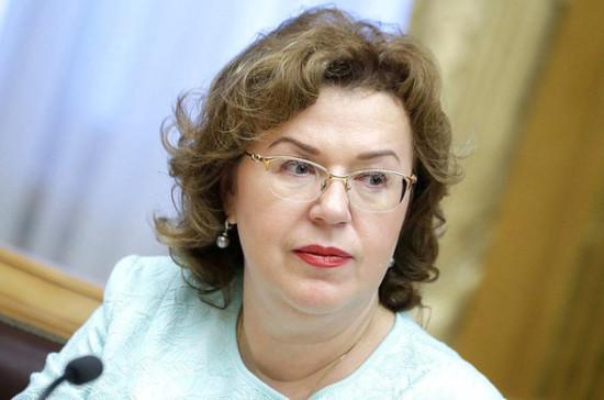 Законодатели учтут поступающие поправки в нормотворческой работе, заявила Епифанова