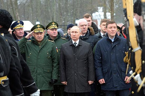 Владимир Путин прибыл в Псков