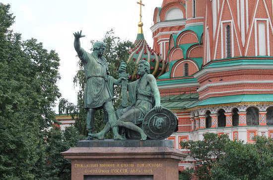 202 года назад в Москве появился первый памятник