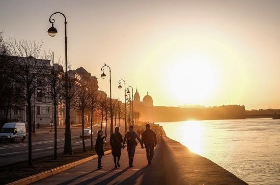 Санкт-Петербург будет создавать общественные пространства