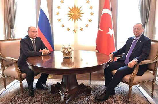 Политолог: после переговоров Путина и Эрдогана конфликт в Идлибе пойдёт на спад
