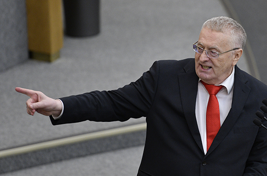 Жириновский предложил наделить Госсовет полномочиями избирать президента