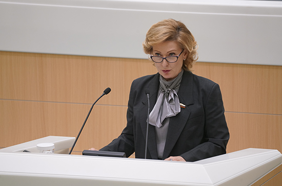 Святенко рассказала о социальных поправках к Конституции