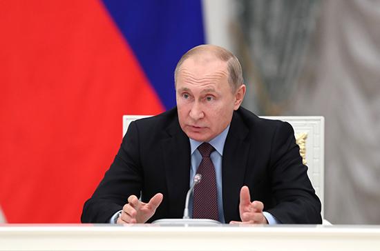 Путин оценил отношения России с США «на троечку» с минусом