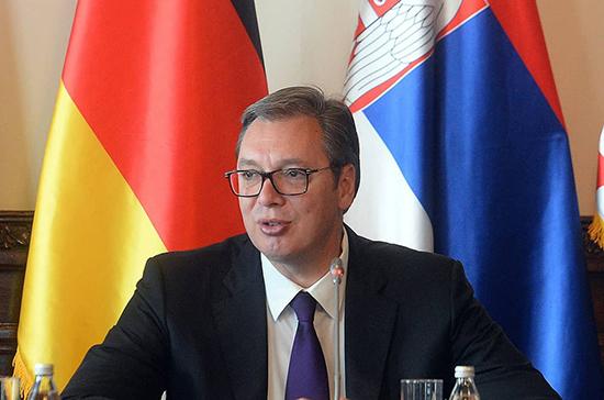 Вучич допустил перенос парламентских выборов в Сербии из-за короновируса