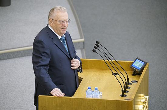 Жириновский предложил отменить Олимпийские игры в Токио