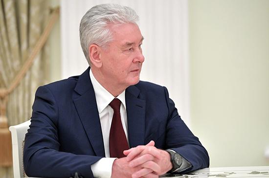 Собянин рассказал Путину о ситуации с карантином по коронавирусу