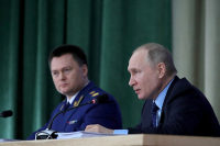 Путин потребовал от правоохранителей выработать систему борьбы с киберпреступлениями