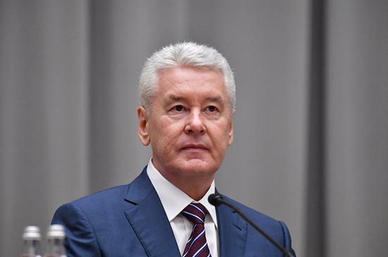 Мэр Москвы призвал работодателей перевести сотрудников на работу из дома