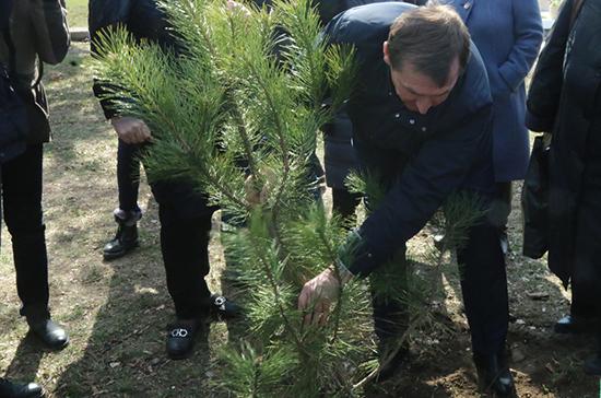 В Крыму заложили Сады памяти
