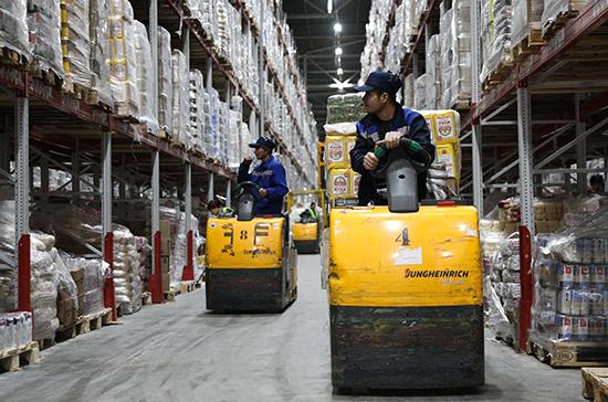 Продуктовые склады в Подмосковье перешли на круглосуточный режим работы